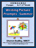 Writing Picture Prompts - Summer