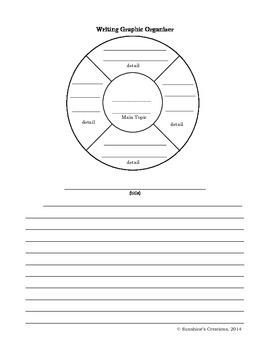 Writing Picture Prompts and Graphic Organizers