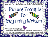 Writing Picture Prompts for Beginning Writers