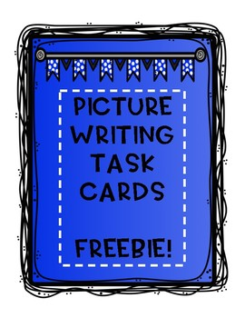 Picture Writing Task Cards