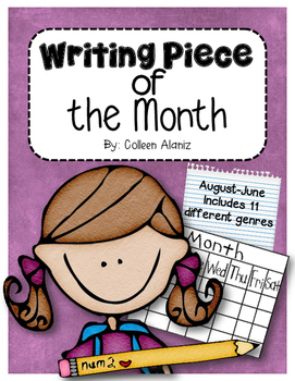 Writing Piece of the Month