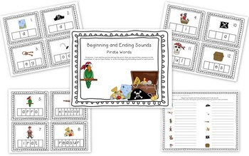 Pirate Word Work and Writing