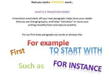"""Writing Plan Pack-Teach them to write a 5 paragraph essay the """"easy way"""""""