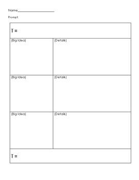 Writing Plan Page