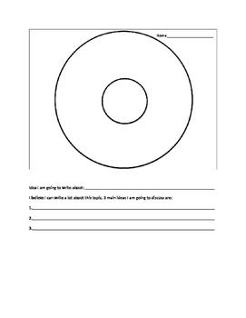 Writing Planning Sheet