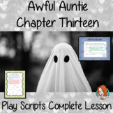 Writing Play Scripts Lesson – Awful Auntie
