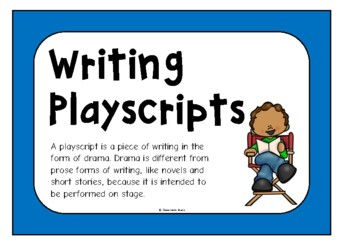 Writing Playscripts