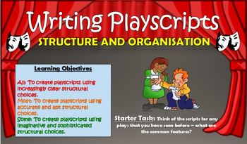 Writing Playscripts: Structure and Organisation