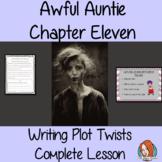 Writing Plot Twists – Awful Auntie