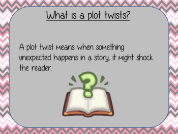 Writing Plot Twists – Gangsta Granny