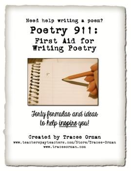 Help writing poetry
