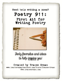 Creative Writing Poetry - 50 Formulas to Help Students Write Poems