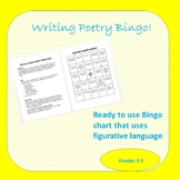 Writing Poetry Bingo!