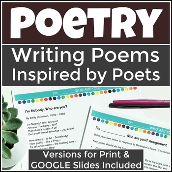 Writing Poetry Modeled After Great Poets