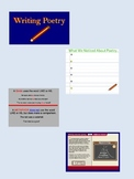 Writing Poetry:  Lessons and Model Poems for the SMARTboard