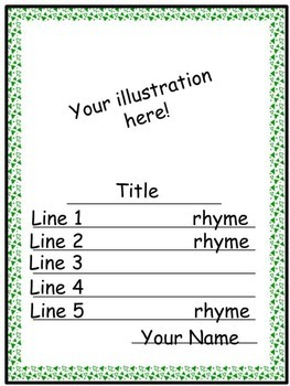 Writing Poetry Limericks for St Patrick's Day