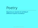 Writing Poetry Portfolio Project