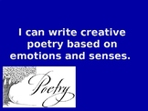 Writing Poetry
