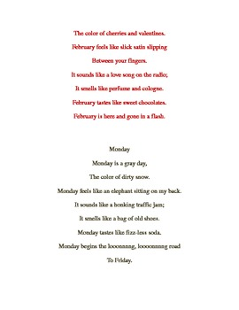 Writing Poetry: Sense of Time Poems