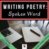 Writing Poetry: Spoken Word