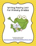 Writing Poetry Unit for Primary Grades