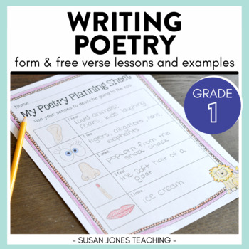 Poetry Teaching Resources Lesson Plans Teachers Pay Teachers