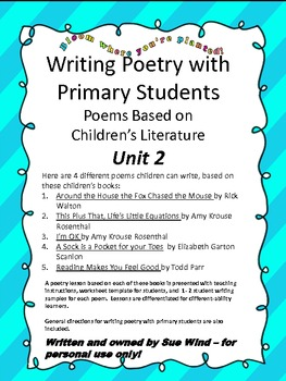 Unit 2 Writing Poetry with Primary Students Based on Children's Literature