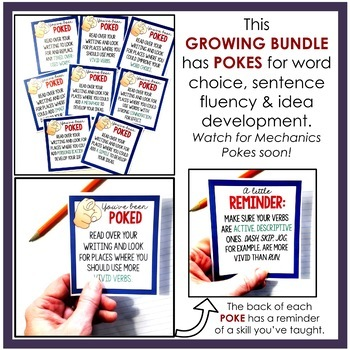 Writing Pokes Bundle