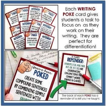 Writing Pokes: Sentence Fluency