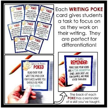 Writing Pokes: Word Choice