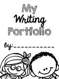Writing Portfolio Cover {FREEBIE}