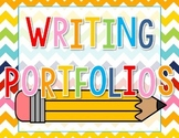 Writing Portfolio Cover - Freebie