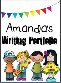 Writing Portfolio Covers