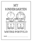 Writing Portfolio Journal Pre-K-1 grade