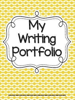 Writing Portfolio Prompt Journal