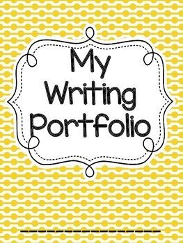 Writing Portfolio Prompt Journal