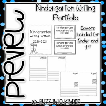 Writing Portfolios - Journals Throughout the Year