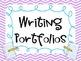Writing Portfolios Signs