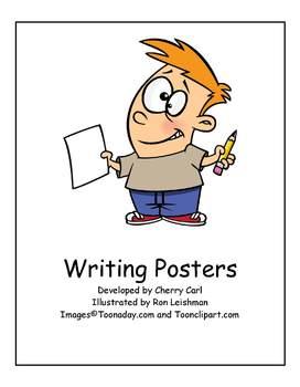 Writing Poster Set