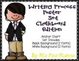 Writing Process Anchor Charts (Chalkboard)