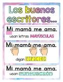 Writing Poster Spanish Ed.