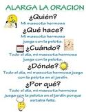 Writing Poster Spanish Escritura