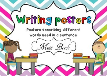 Grammar in Writing Posters