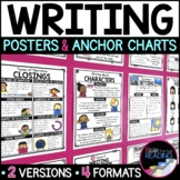 Writing Posters, Anchor Charts & Writer's Notebook Sheets