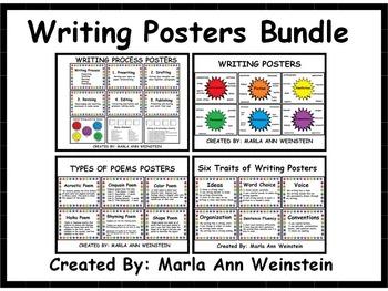 Writing Posters Bundle