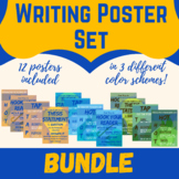 Writing Posters Bundle- HOT, Hook Your Reader, TAP and The