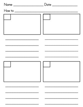"""Writing Posters: """"How to"""" Projects for Primary Students"""