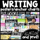 Print & Digital Writing Posters/Anchor Charts | Opinion, Informative, Narrative