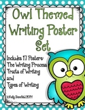 Writing Posters: Owl Themed