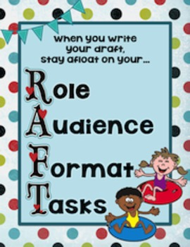 Writing Mnemonic Posters:  R.A.C.E. and R.A.F.T.